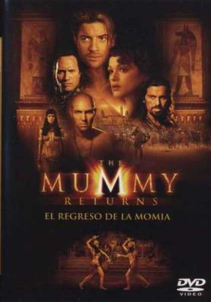 Spanish DVDs - The Mummy Returns