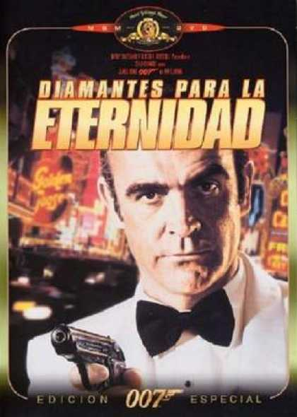 Spanish DVDs - Diamonds Are Forever