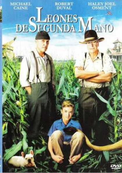 Spanish DVDs - Secondhand Lions