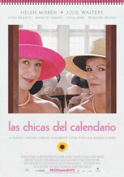 Spanish DVDs - Calendar Girls
