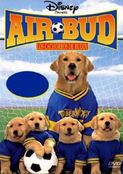 Spanish DVDs - Air Bud 3