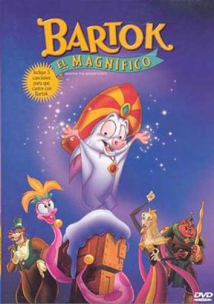 Spanish DVDs - Bartok The Magnific