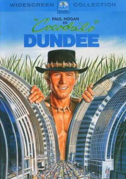 Spanish DVDs - Cocodrile Dundee
