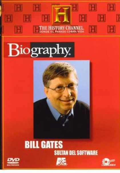 Spanish DVDs - Bill Gates History Channel