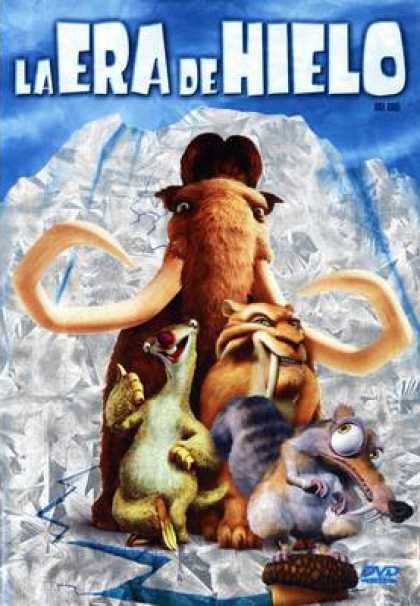 Spanish DVDs - Ice Age