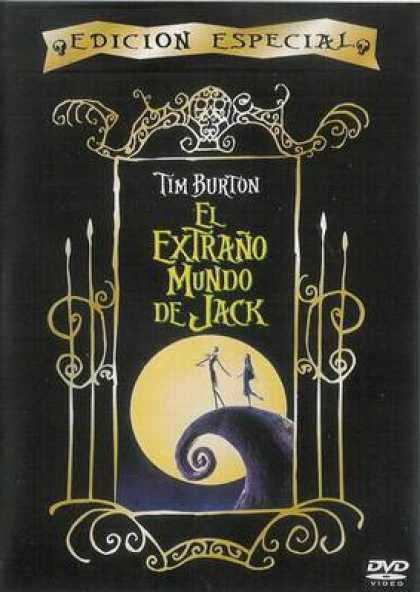Spanish DVDs - The Nightmare Before Christmas
