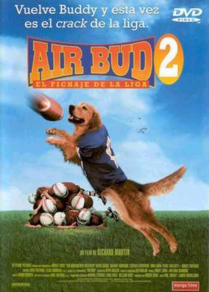 Spanish DVDs - Air Bud 2