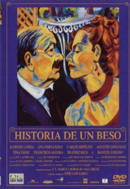 Spanish DVDs - The Story Of A Kiss