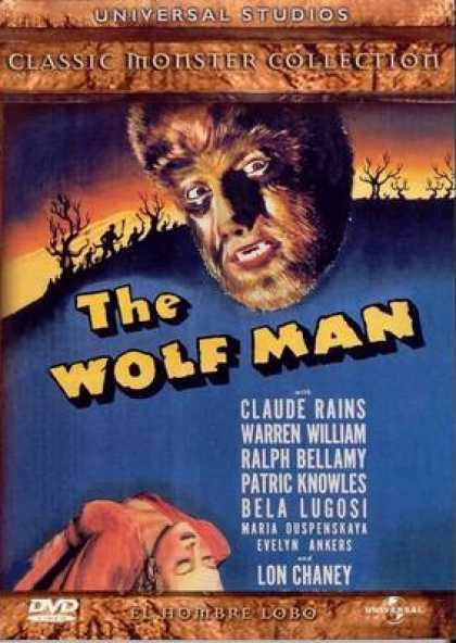 Spanish DVDs - The Wolf Man
