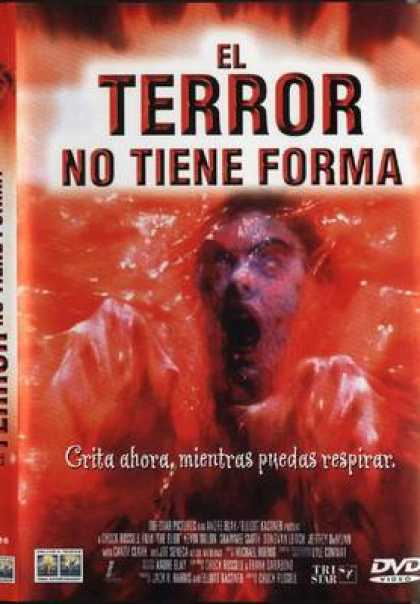 Spanish DVDs - The Blob