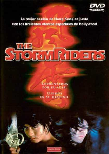 Spanish DVDs - The Stormriders