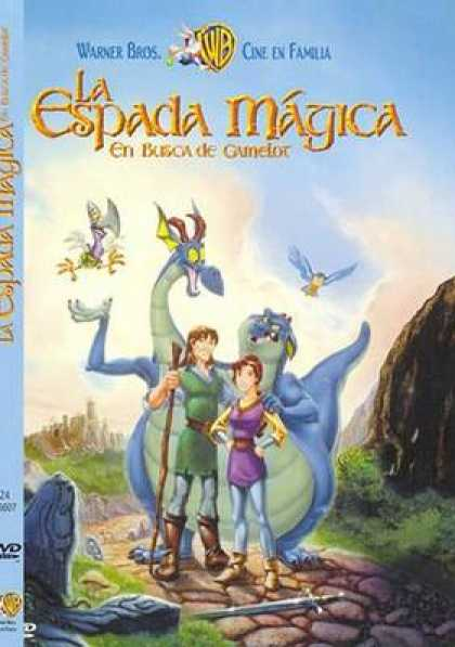 Spanish DVDs - The Quest For Camelot
