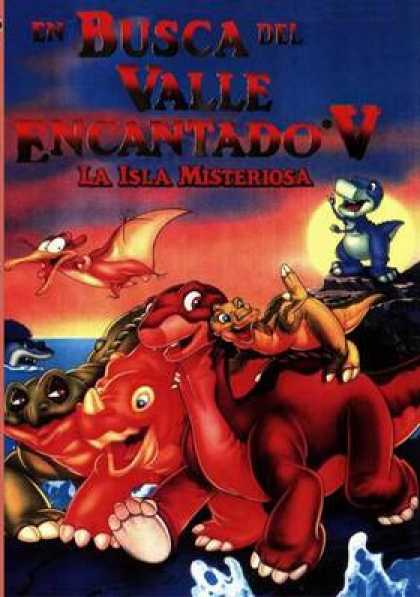 Spanish DVDs - The Land Before Time 5
