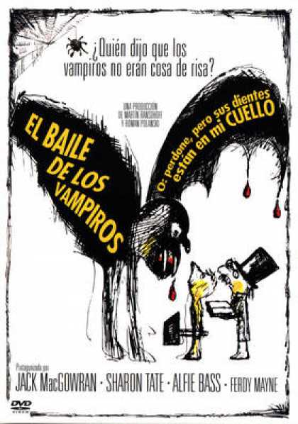 Spanish DVDs - The Fearless Vampire Killers