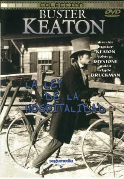 Spanish DVDs - Buster Keaton Collection Volume 1