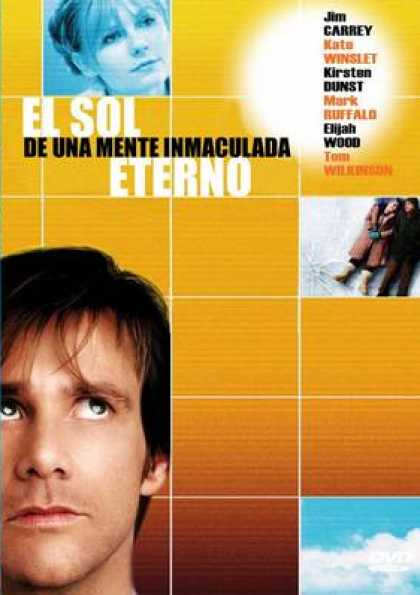 Spanish DVDs - Eternal Sunshine Of The Spotless Mind