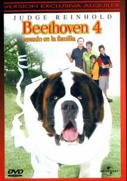 Spanish DVDs - Beethovens 4th
