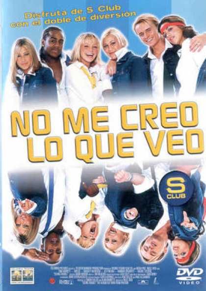 Spanish DVDs - S Club Seeing Double 2003