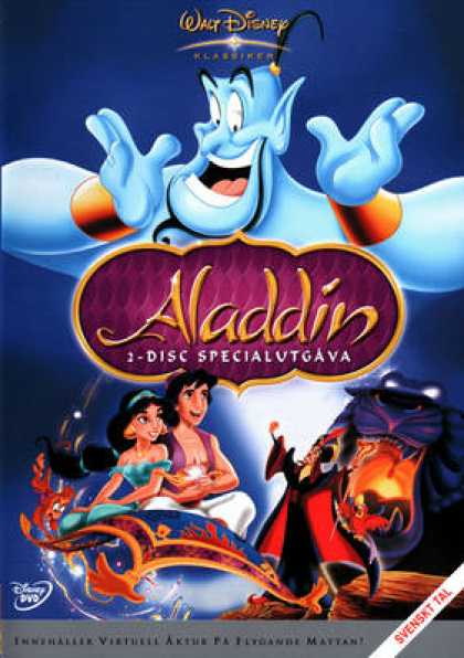 Spanish DVDs - Aladdin