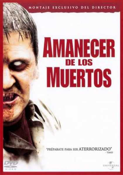 Spanish DVDs - Dawn Of The Dead