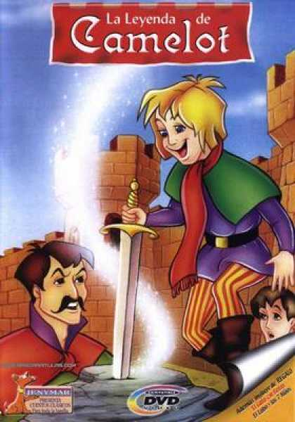 Spanish DVDs - Childrens Classics Vol 5 Camelot