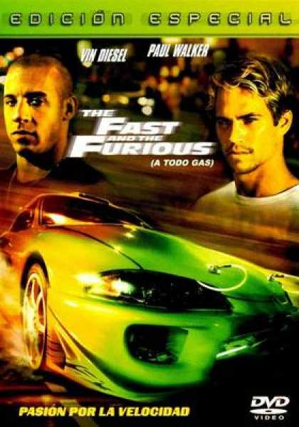 Spanish DVDs - The Fast And Furious Special