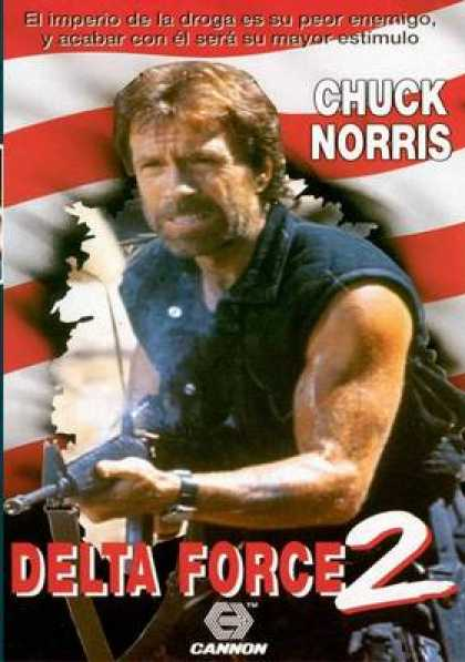 Spanish DVDs - Delta Force 2
