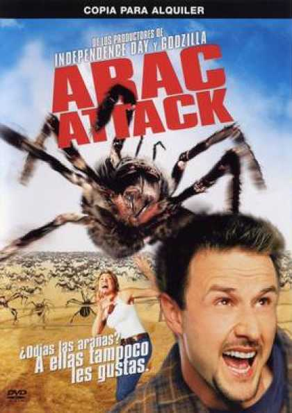 Spanish DVDs - Arac Attack