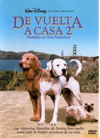 Spanish DVDs - Homeward Bound 2