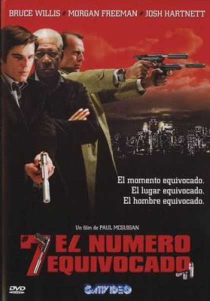 Spanish DVDs - Lucky Number Slevin