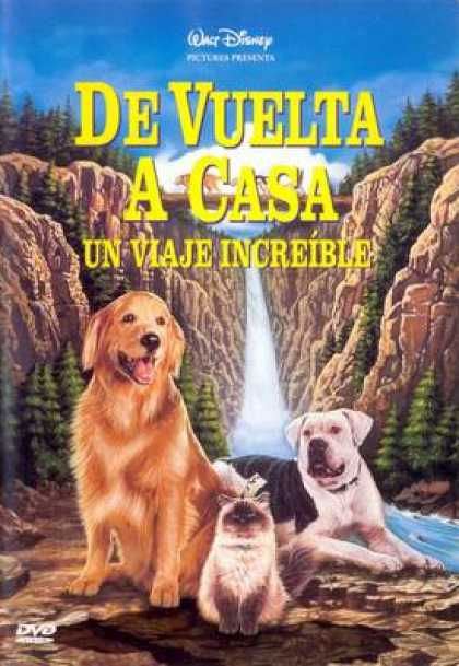 Spanish DVDs - Homeward Bound