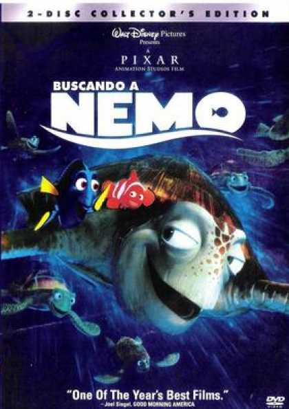 Spanish DVDs - Finding Nemo Collectors