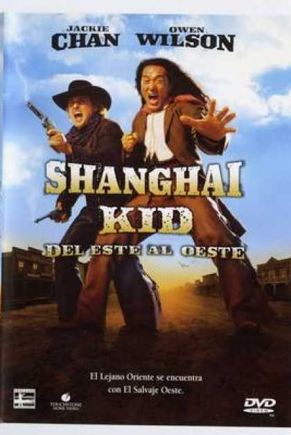 Spanish DVDs - Shanghai Noon