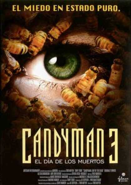 Spanish DVDs - Candyman 3