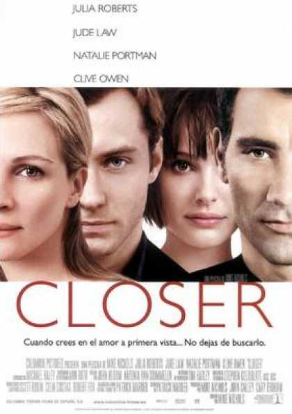 Spanish DVDs - Closer