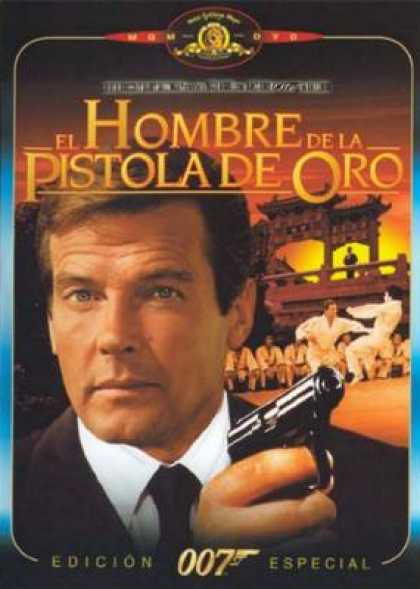 Spanish DVDs - The Man With The Golden Gun