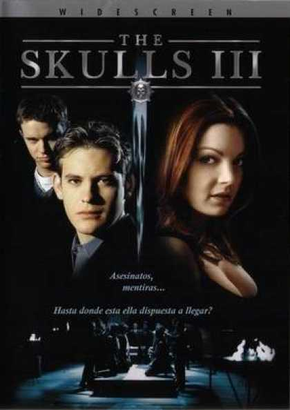 Spanish DVDs - The Skulls 3