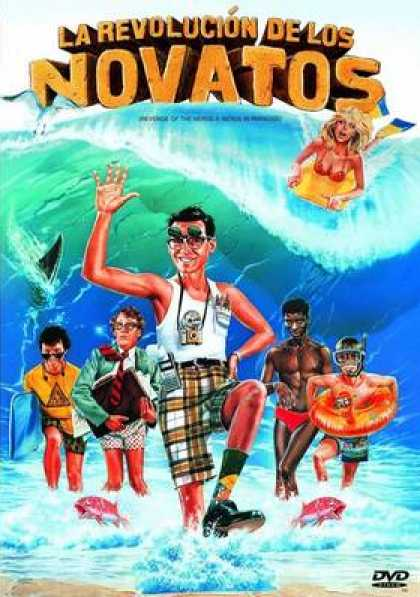 Spanish DVDs - The Revenge Of The Nerds 2