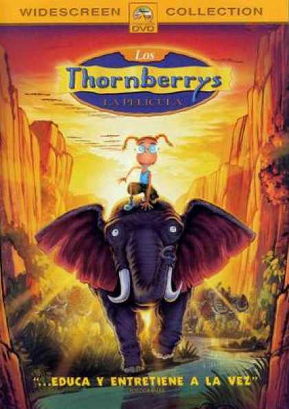 Spanish DVDs - Thornberrys The Movie