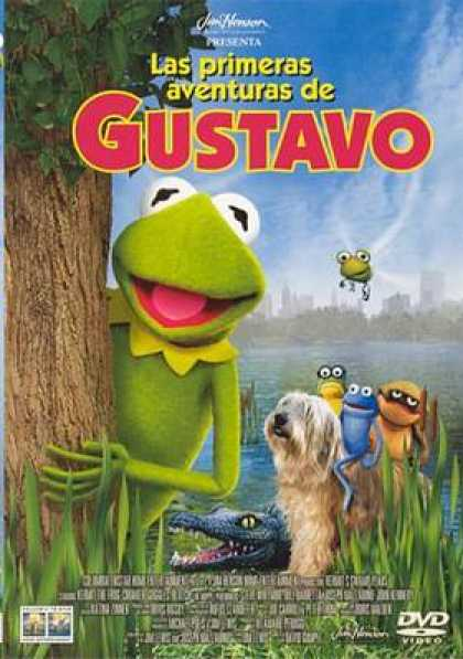 Spanish DVDs - Kermits Swamp Years