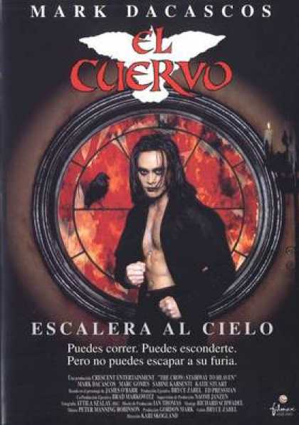 Spanish DVDs - The Crow Stairway To Heaven
