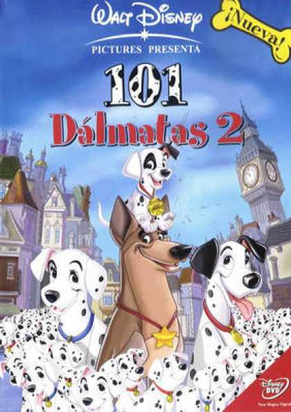 Spanish DVDs - 101 Dalmatians 2 Patchs London Adventure