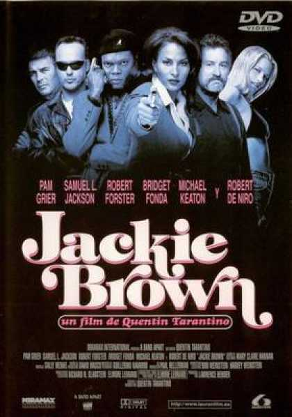Spanish DVDs - Jackie Brown