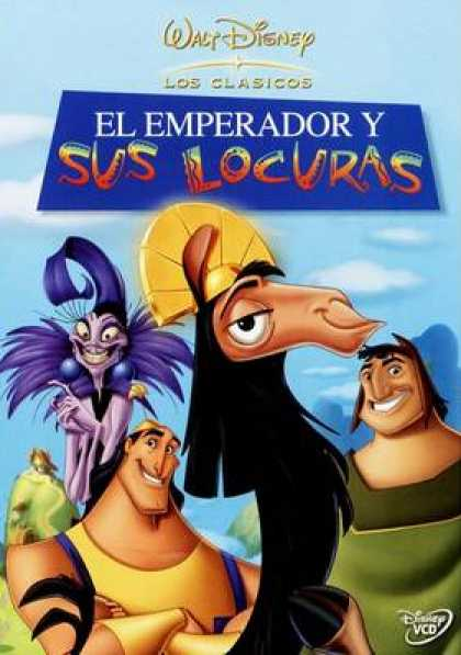 Spanish DVDs - The Emperiors New Groove