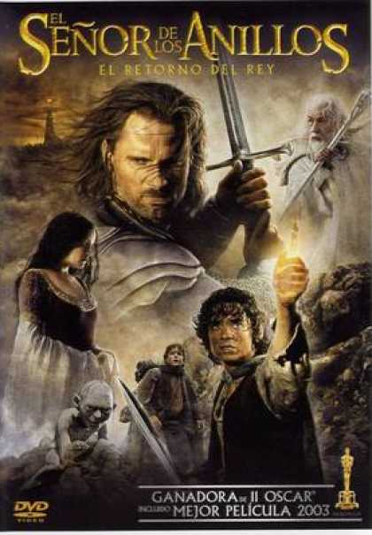 Spanish DVDs - The Lord Of Rings King Returns