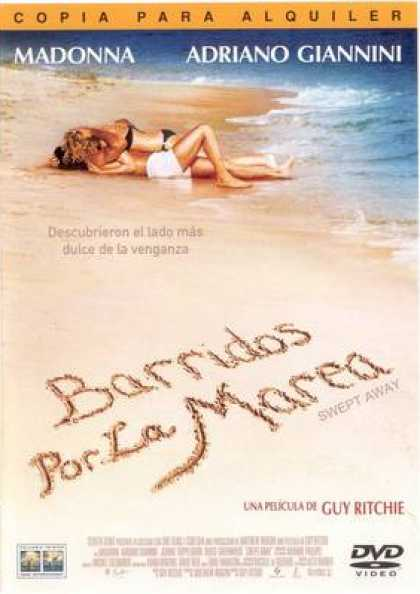 Spanish DVDs - Swept Away