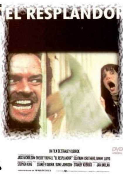 Spanish DVDs - The Shining