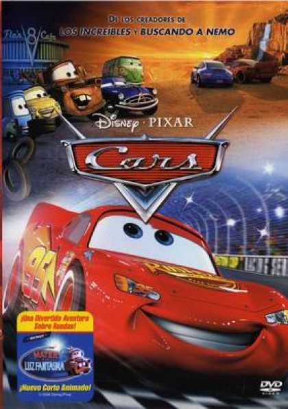 Spanish DVDs - Cars -