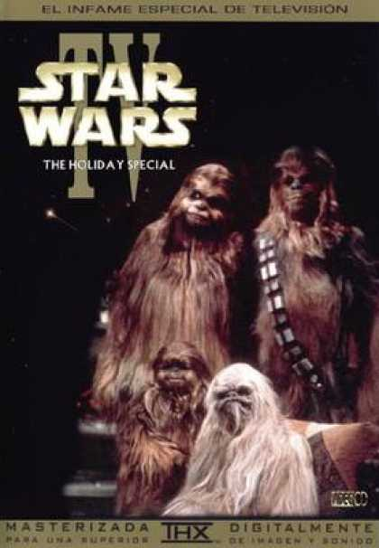 Spanish DVDs - Star Wars Holiday Special