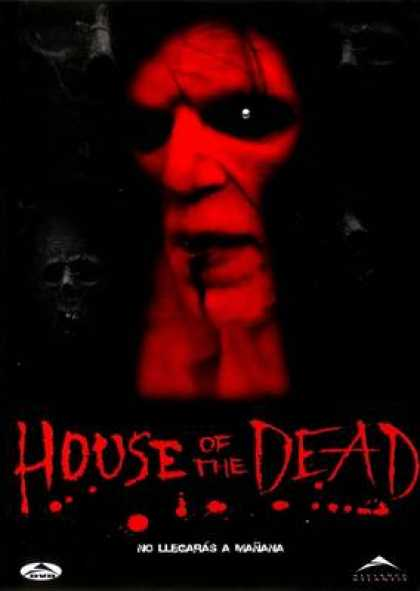 Spanish DVDs - House Of The Dead